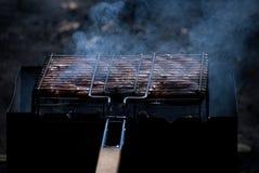 Barbecuefoto Royalty-vrije Stock Foto's