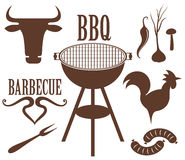 Barbecuegrill Stock Afbeelding