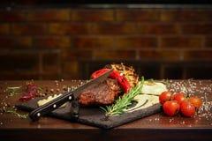 Barbecuelapje vlees Royalty-vrije Stock Fotografie