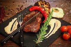 Barbecuelapje vlees Royalty-vrije Stock Foto