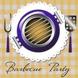 Barbecuepartij Stock Foto