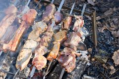 Barbecues Royalty Free Stock Images
