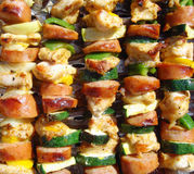 Barbecues savoureux Image stock