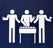 Barbecues sign Royalty Free Stock Photos