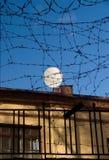 barbed nadmiernie satelita przewód Obraz Stock