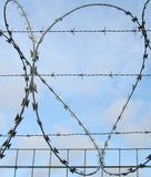 Barbed and Razor Wire Royalty Free Stock Photo