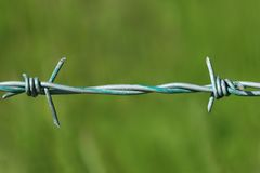 Free Barbed Wire Royalty Free Stock Image - 1575846