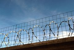 Barbed wire Royalty Free Stock Photos