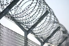 Barbed-wire 2 Stock Images