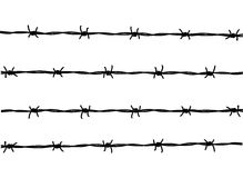 Free Barbed Wire Royalty Free Stock Photos - 21891108