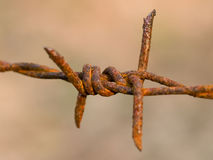 Barbed Wire abstract Royalty Free Stock Photo