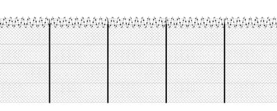 Free Barbed Wire And Fence, Front View Of A Wire Mesh, Black And White. White Background And Drawing In Black Royalty Free Stock Photo - 156303305