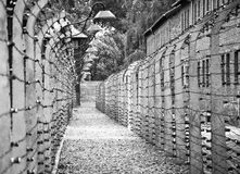 Auschwitz-Birkenau concentration camp Royalty Free Stock Photo