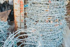 Barbed Wire Background Royalty Free Stock Images