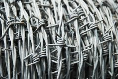 Barbed Wire Cable Royalty Free Stock Images