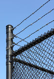 Barbed Wire Corner Stock Images