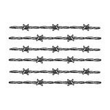 Barbed wire for detaining criminals in prison. A fence in prison.Prison single icon in outline style vector symbol stock Royalty Free Stock Images