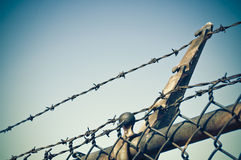 Free Barbed Wire Fence Stock Photos - 14700603