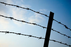 Free Barbed Wire Fence Stock Photography - 16832232