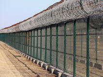 Barbed wire,Fence Stock Photos