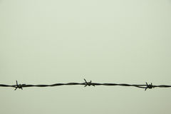 Barbed Wire with Four Points Stock Images