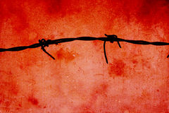 Barbed Wire grunge background Royalty Free Stock Image