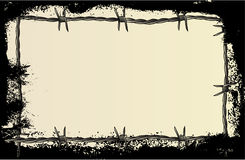 Barbed Wire Grunge Royalty Free Stock Photo