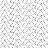 Barbed wire pattern Royalty Free Stock Images