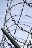 Barbed Wire and Razor Wire Stock Photos
