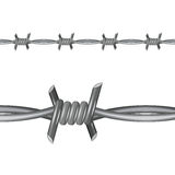 Barbed Wire vector illustration. Stock vector Stock Photos