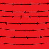 Barbed wire. Vector Stock Photos