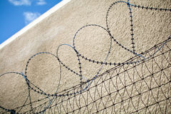 Barbed wire Royalty Free Stock Photography