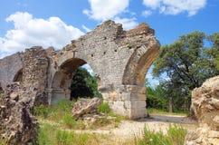 Barbegal rzymski akwedukt zdjęcie royalty free