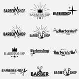 Barbeiro da coleção Imagens de Stock