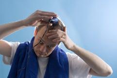 Barbeiro do auto-serviço Foto de Stock Royalty Free