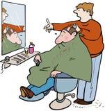 Barbeiros ilustração royalty free