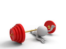 Barbell Images stock