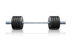 barbell illustration libre de droits