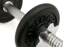 Barbell stockbild