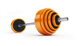 Barbell Royalty Free Stock Photo