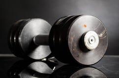 Barbell en métal Images libres de droits