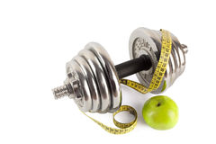 Barbell fitness Stock Photography