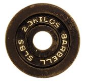 Barbell plate royalty free stock photos