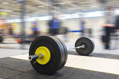 Barbell plates Royalty Free Stock Photography
