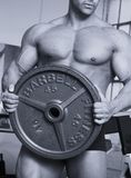 Barbell-Platte Stockfotos
