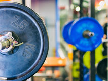 Barbell ready to workout Royalty Free Stock Photography