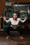 Barbell Squat Royalty Free Stock Images
