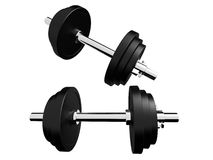 Barbells Royalty Free Stock Images