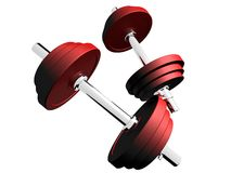 Barbells Royalty Free Stock Photo