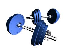Barbells Immagine Stock